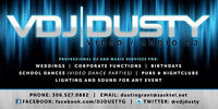 Professional DJ services - DJ DUSTY wants to DJ your wedding!!