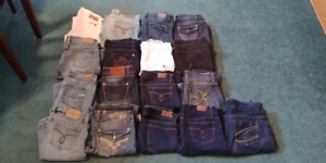Brand Name Ladies Jeans Lot