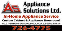 Having appliance issues? Call Us today!
