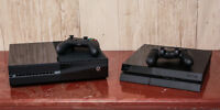 Xbox one ou Playstion 4