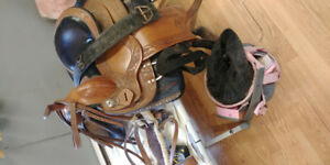 Assorted Horse tack and gear