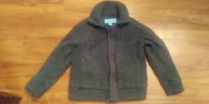 Stylish Boys Fall sweater/ jacket size 4