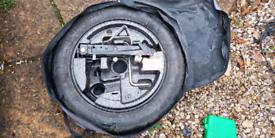 BMW spare wheel 135/ 80/ 17 full spare set.