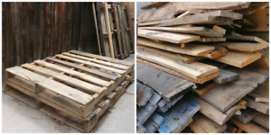 Pallet wood for sale