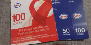 Esso gift cards