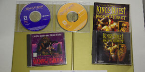 For Sale: Computer games King Quest and Quest for Glory