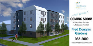 New Affordable Seniors Life Lease Rental project in Winnipeg.