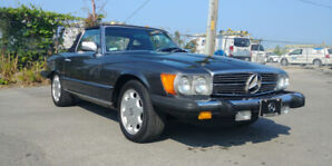 1980 Mercedes 450 SL Convertible 95000KM *CLEAN* V8 Low km