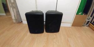 Yorkville CX80 speakers (2)
