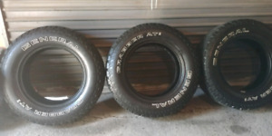 "245 70r 17"" General Grabber A/T2 all seasons"