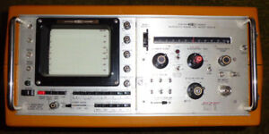 Systron/Donner Spectrum Analyzer Model 712-2a/809-2a 0-12.4Ghz