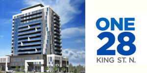 Exclusive Offer! New Waterloo Condo - ONE28 On King St Waterloo