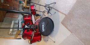 Red Viper Childs Drumset GREAT CONDITION