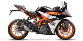 New KTM RC390