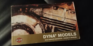 2012 Harley Davidson Dyna Owners Manual