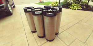 Kegs for home brew