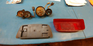 Skidoo guages and taillight assembly $75 for all