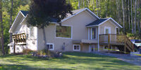 FOR RENT - 3 Bedroom Newly Renovated Upper on acreage $1,200/Mo.