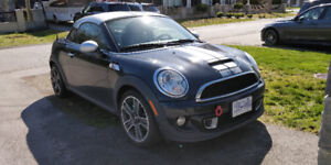 2012 Mini Cooper Coupe S (With JCW Tuning Kit)