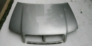 Silver hood for Audi A4