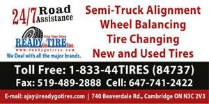TRUCK & CAR TIRES - Road Side Assistance/ Repair Shop