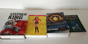 For Sale: 4 books (various individual price)