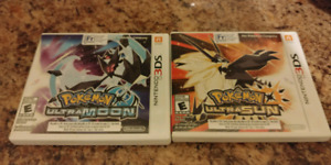Pokemon Ultra Sun and Ultra Moon 3DS 2DS