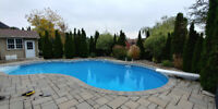 Pool Closing----$240 Including Chemicals-----Immediate Openings.