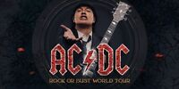 TWO AC/DC Sept 10th Toronto concert tickets