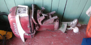 30hp Johnson electric start outboard motor