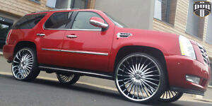 28 inch DUB Suave Rims and tires