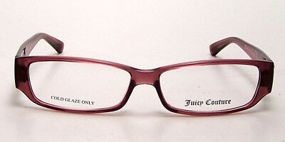NEW Juicy Couture Eyeglasses Drama Queen 2 OJVJ Rose Pink 52-13-135  Authentic