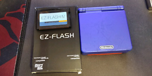 GBA SP - EZ Flash IV Cart - Pokemon Red