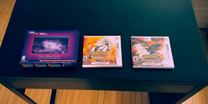 New 3ds XL and pokemon