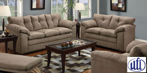Brand NEW Luna Mineral Sofa! Call 519-304-2790!