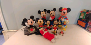 Micky Mouse collectables lot