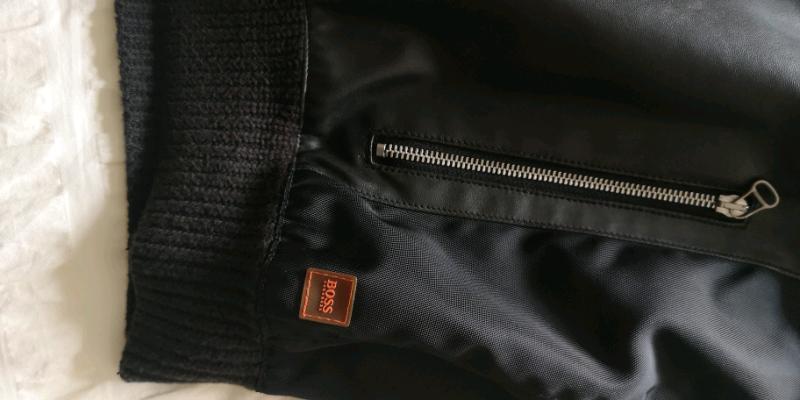 174b4dd80 Hugo Boss Mens Biker Jacket (Black) | in Glenrothes, Fife | Gumtree