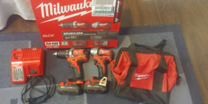M18 drill and driver combo brushless