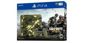 1tb Call of duty ww2 ps4 bundle