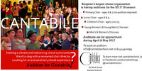 Cantabile choirs AUDITIONS