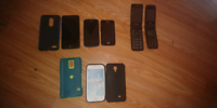Older phones and cases