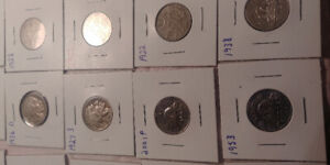 Canada and usa nickels