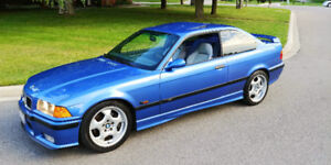 1996 BMW M3 - E36 Coupe, Manual, 103,000KM, Luxury Wood Package