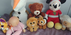 Stuffies/Stuffed toys everything for $10!