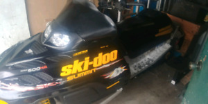 2001 skidoo summit 600 h.o. with reverse