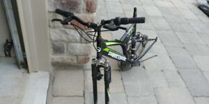"""Supercycle Vice 16"""" inch mountain bike frame, 24"""" wheels (parts)"""