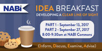 IDEA Breakfast - Developing a Clear Line of Sight - Part 2