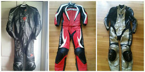 Ladies Motorcycle Leathers, Dainese and Spidi Racing Leathers
