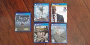 Various PS4 Titles