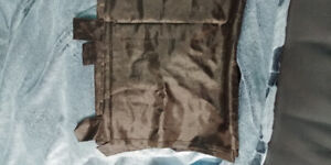 Brown Satin Curtain set